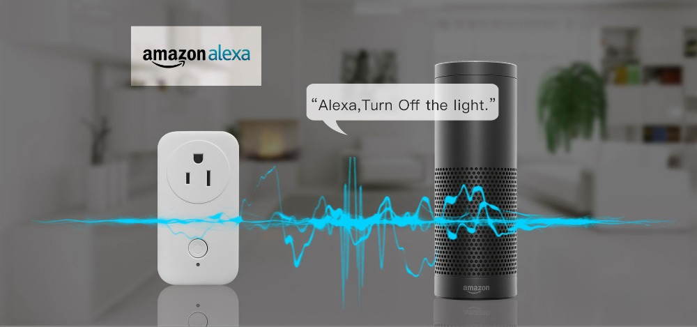 Vstarcam Smart Plug Outlet Wifi smart power socket With Amazon Alexa Echo Google Home Apple Home Kit