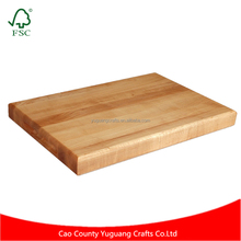 Custom 1PC Maple Cutting Board Fruit Bread Natural Chopping Block Sushi Wooden Cutting Board