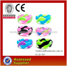 Newest Silicone Twisted Cord Bracelet