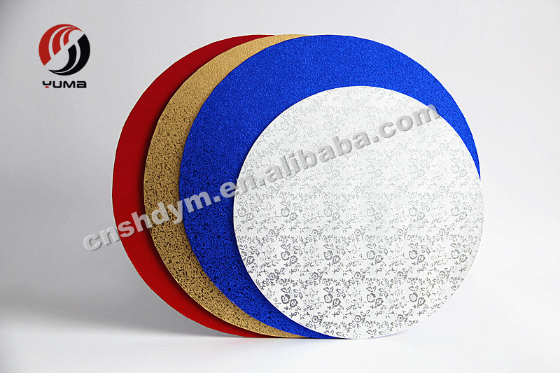 food grade recycled mdf cake board
