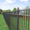 Hot China Products Wholesale decorative wall wrought iron/metal fence for boundary wall