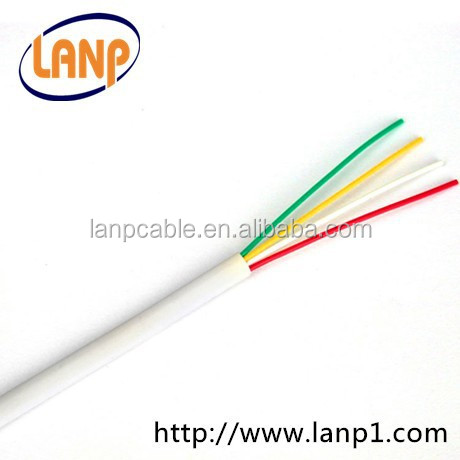 Flat 4 Cores Telephone Cable