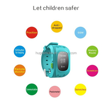 Best Gps Kids Tracker Watch With SOS Button, Bluetooth Bracelet Wristband , Smart Watch Phone for Children for Android IOS q50