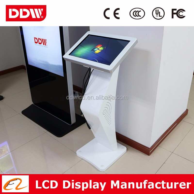 "Low price 42"" 1080P LED backlit ipad kiosk stand wifi kiosk digital lcd tv kiosk touch screen player DDW-AD4201TKPC"