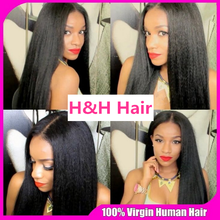 Alibaba express best selling italian yaki human hair full lace wig ,glueless full lace 100% human hair wig