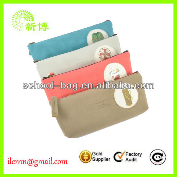 Promotional polyester fabric pencil case