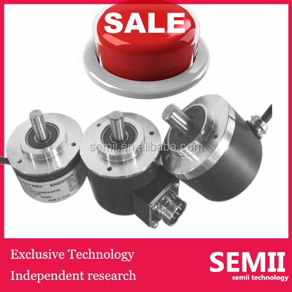 Semii 5mm 6mm 8mm 10mm 5000 PPR Shaft Optical Rotary Encoder
