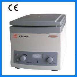 KA-1000 CE approved medical used portable hospital hematocrit lab centrifuge price