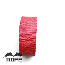 Red color Exhaust Insulating Header Wrap 10m thermo bandage