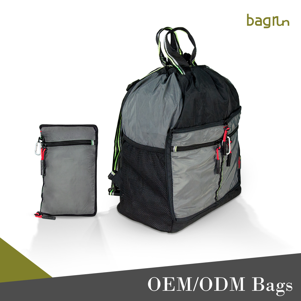OEM Customized Sports Hiking Backpack Foldable Travel Bag
