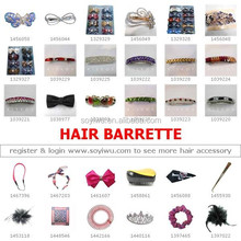 Hair Barrette : One Stop Sourcing Agent from China Biggest Wholesale Yiwu Market J