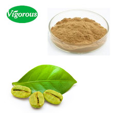 Free sample 50%chlorogenic acids green coffee bean extract powder