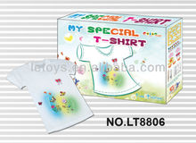 Funny Hand Paint T-shirts/fabric painting t-shirts/painting t-shirt/