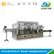 easy operate bottle washing filling capping machine