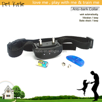 Dog Training Products Stubborn Dog Barking Control Shock Electric Collar