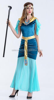China Suppliers Wholesale Shinning Halloween princess Sex Cosplay Costume