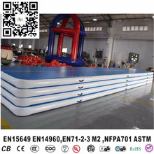 Factory sale gymnastics inflatable air track gym mat inflatable air tumble track