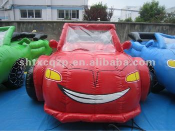 Inflatable promo car