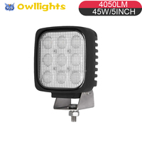 On sale!low-price 45w led work light 4wd truck parts 4x4 accessories auto parts 45w led auto spot light 45w led driving light