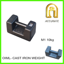 M1 20kg cast iron weights, folklift counter weights, iron counterweight blocks