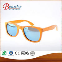 Professional mould design factory supply new design unisex bamboo sunglasses