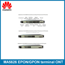Huawei 8 ports switch Reverse POE MA5626-8 PD GPON/EPON/GE terminal ONT with 8 ethernet ports apply to FTTB ONU