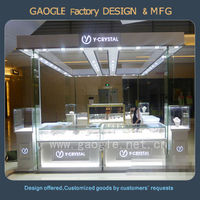 jewelry store showcase designs for commercial display cabinets