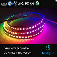 apa 102 144 leds per meter digial addressable individually led strip light changeable dmx led strip