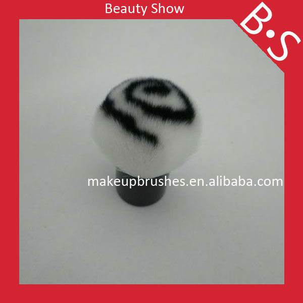 Cute kabuki brush synthetic for promotion,private labeling makeup cosmetic brush,wholesale price,free sample