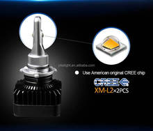 toyota corolla ae100 headlights LED 9005 car bulbs