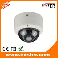 ip camera outdoor vandal-proof metal housing dome cctv camera support onvif/RTSP