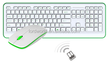 chocolate 2.4G new gadget 2014 business popular keyboard and mouse combo
