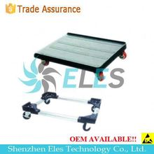 stainless steel pcb trolley / esd smt cart / smt carriage trolley