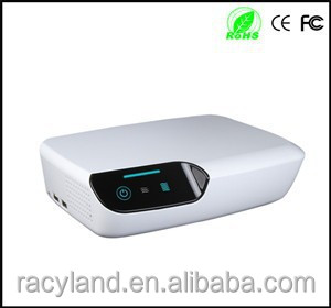 air purifier and ioniser plug in ,uv lamp negative ion air purifier with lcd