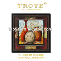 plain glass cardboard picture frame with PS moulding