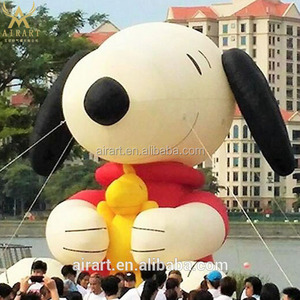 Outdoor decoration lovely inflatable snoopy