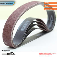 Woodstock 150 Grit Aluminum Oxide Sanding Belt with customized size