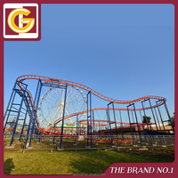 Hot Sales Kid Pop Outdoor Amusement Park Small Roller Coaster