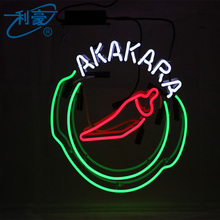 Professional outdoor neon tube lighted signs for rooms with great price