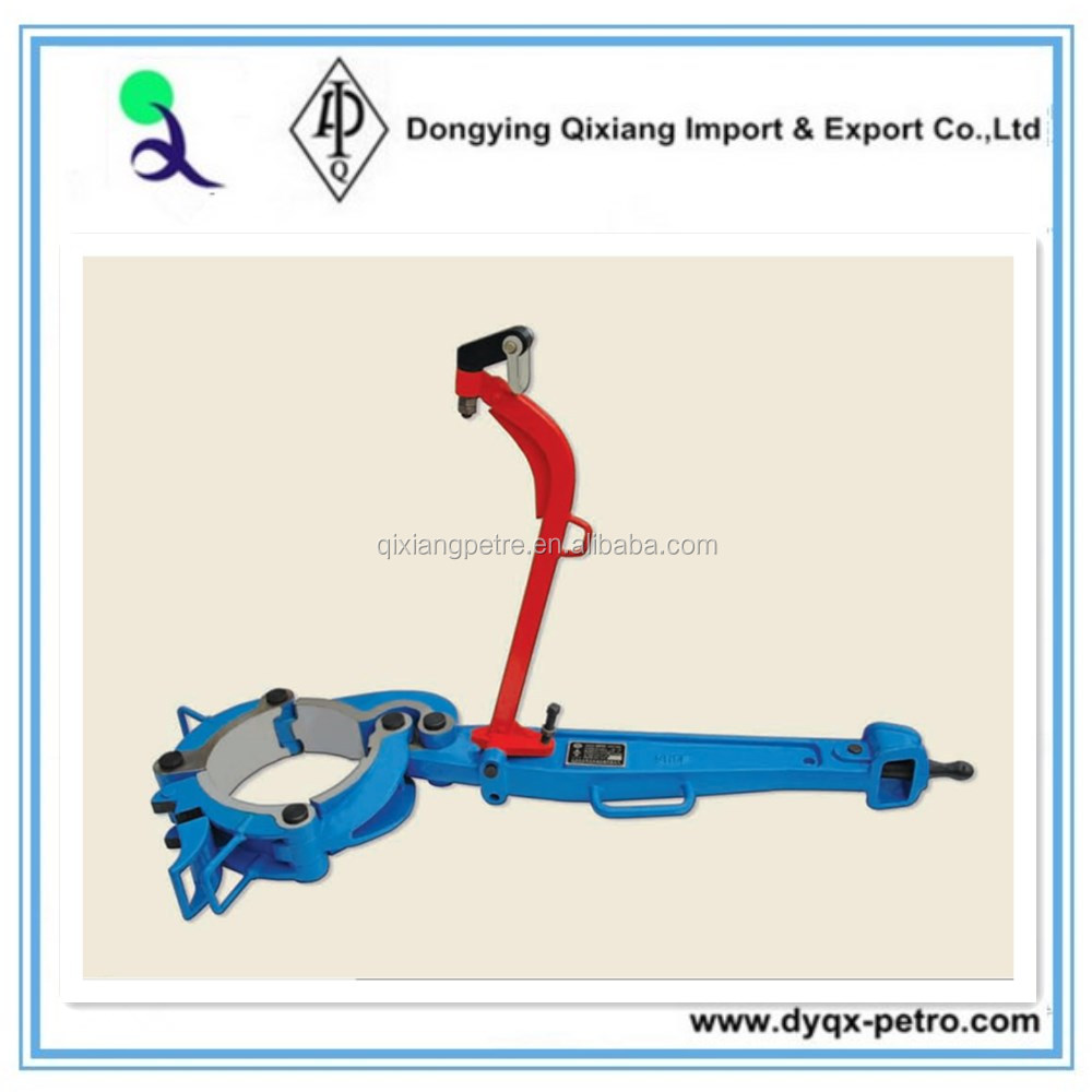 API oil well drill rig Q13 3/8-8 casing Tongs for wellhead tools