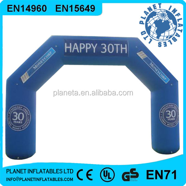 Party Event Used Cheap Inflatable Arch For Sale