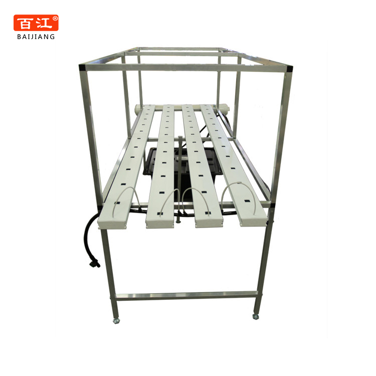 Square or Rectangular PVC Pipe NFT Hydroponic System