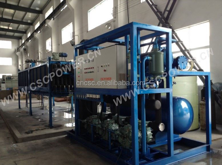 quick delivery 1T ice block making machine for sale