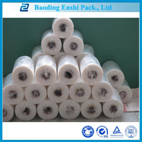 lldpe transparent PE plastic pallet stretch film
