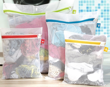 large cheap washing nylon mesh zipper laundry bag