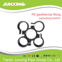 HDPE geothermal pipe fittings separate clamp