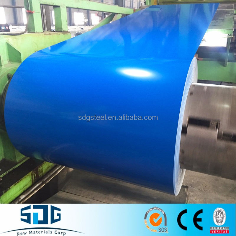 PPGI/PPGL for roofing sheet 0.6*700MM Width, Color Coated Steel Coil prepainted Galvanized Steel Coil Building Materials