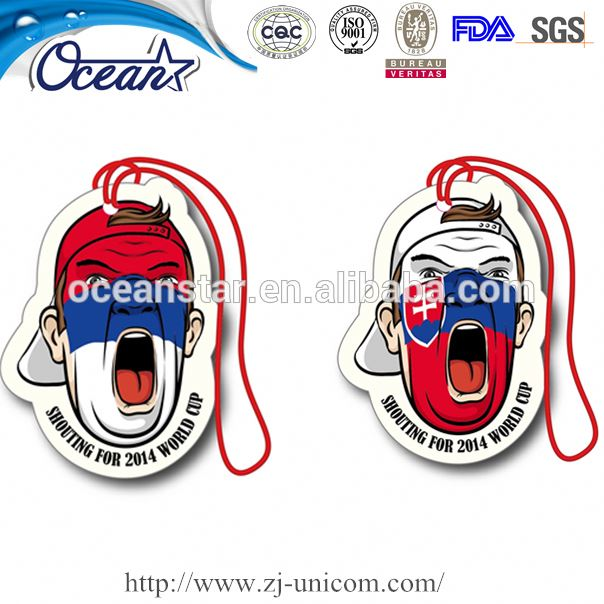 Attentive Service Provide OEM boxing gloves car air freshener