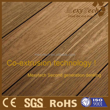 Foshan new wood texture WPC decking Wood Plastic Composite