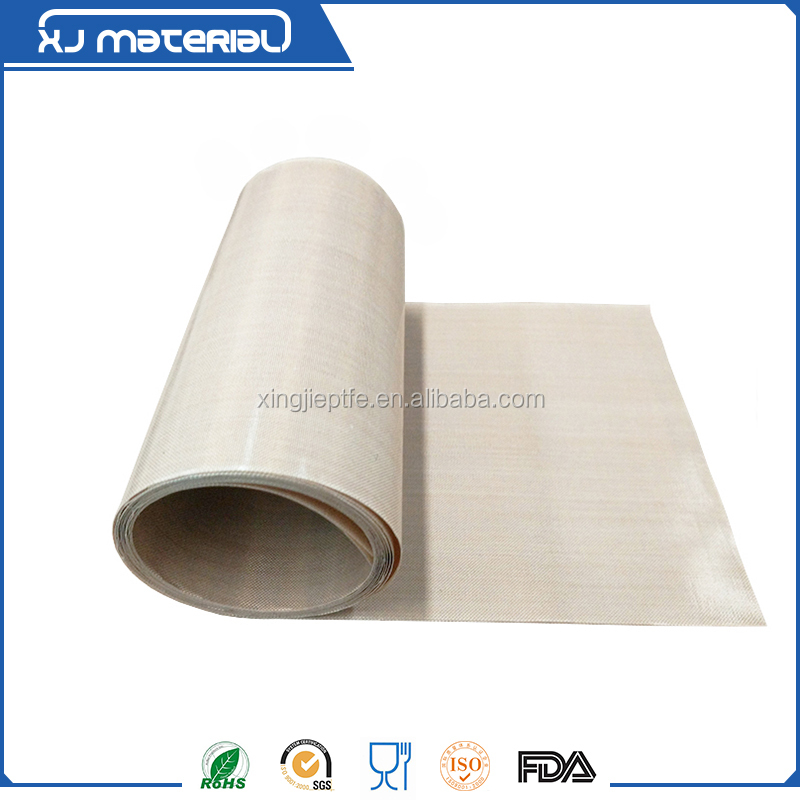 0.90mm white and black PTFE coated glass fabric